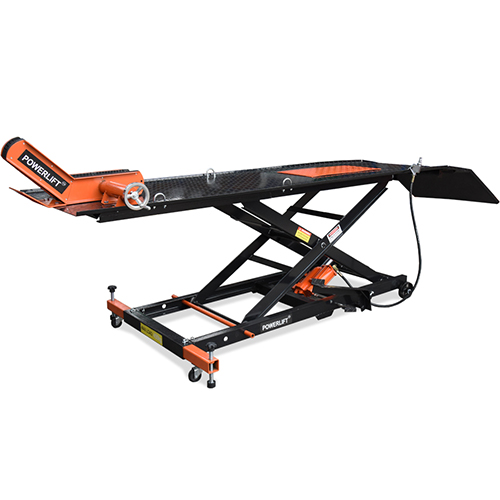 Hydraulic Motorcycle Lift Truck : Big bike lift motorcycle air hydraulic lifter m table